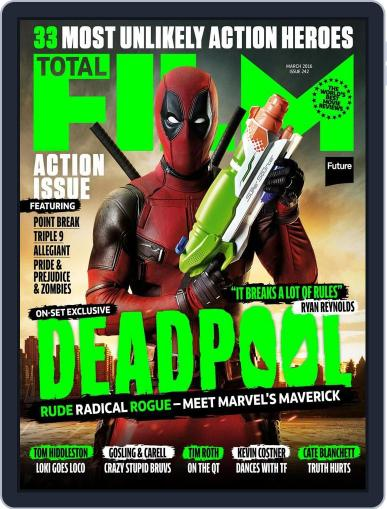 Total Film January 15th, 2016 Digital Back Issue Cover