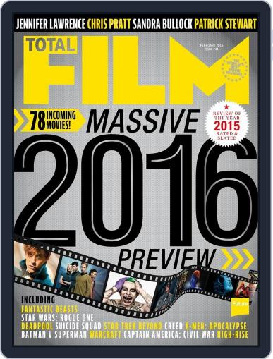 Total Film (Digital) December 18th, 2015 Issue Cover