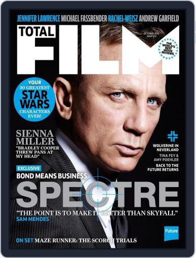 Total Film (Digital) September 30th, 2015 Issue Cover