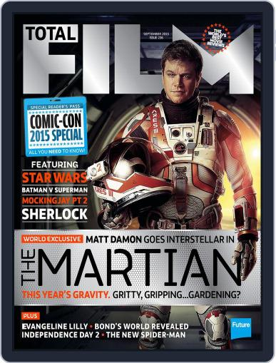 Total Film (Digital) July 30th, 2015 Issue Cover