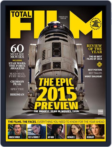 Total Film (Digital) December 18th, 2014 Issue Cover