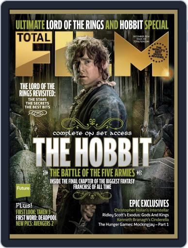 Total Film (Digital) October 23rd, 2014 Issue Cover