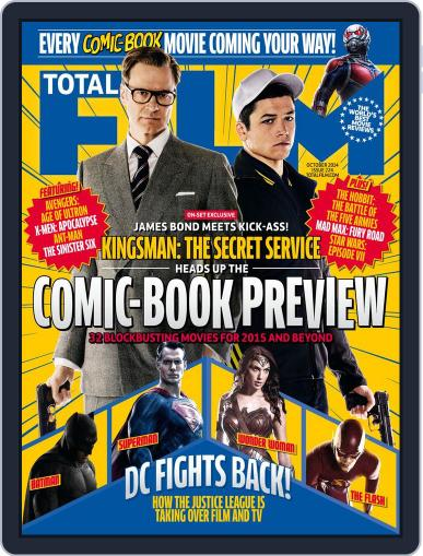 Total Film (Digital) August 28th, 2014 Issue Cover