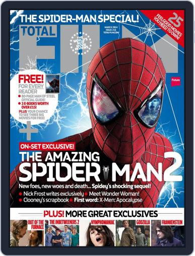 Total Film (Digital) January 16th, 2014 Issue Cover