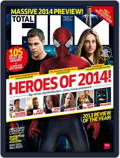 Total Film (Digital) December 19th, 2013 Issue Cover