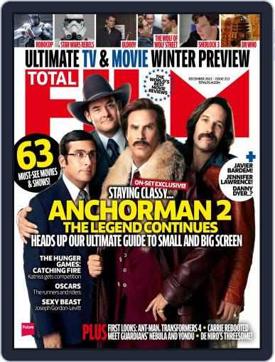 Total Film October 24th, 2013 Digital Back Issue Cover