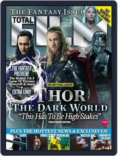 Total Film (Digital) September 26th, 2013 Issue Cover