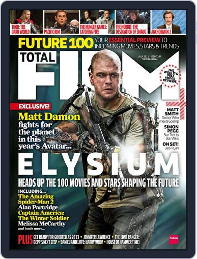 Total Film (Digital) May 9th, 2013 Issue Cover