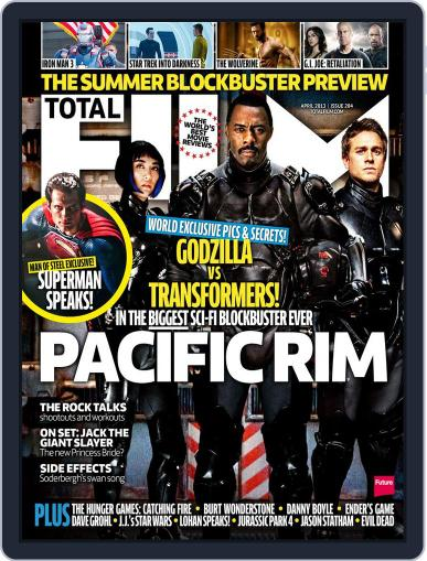 Total Film (Digital) February 14th, 2013 Issue Cover