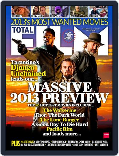 Total Film (Digital) December 26th, 2012 Issue Cover
