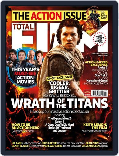 Total Film (Digital) January 25th, 2012 Issue Cover