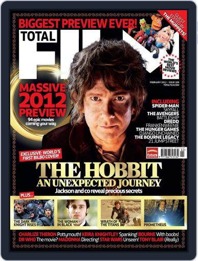 Total Film (Digital) December 27th, 2011 Issue Cover