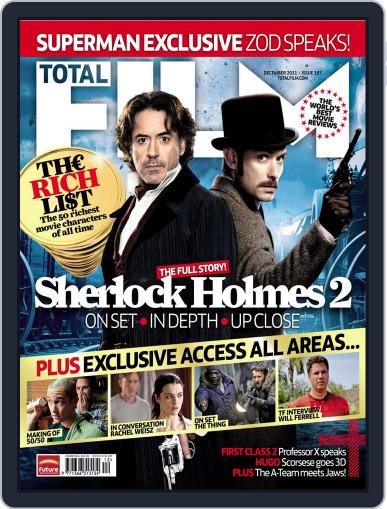 Total Film (Digital) October 30th, 2011 Issue Cover