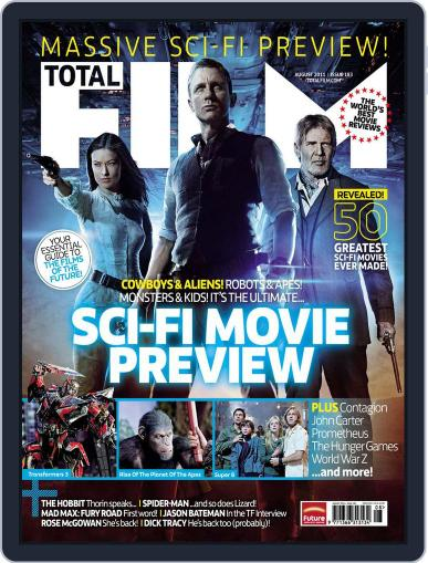 Total Film (Digital) July 10th, 2011 Issue Cover