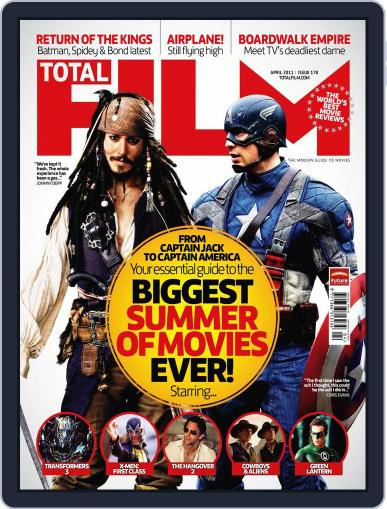 Total Film (Digital) February 18th, 2011 Issue Cover