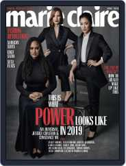 Marie Claire Magazine (Digital) Subscription April 1st, 2019 Issue