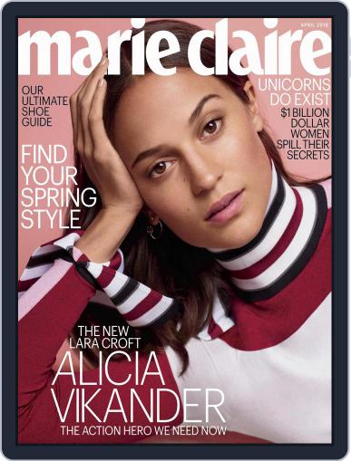 Marie Claire Magazine (Digital) April 1st, 2018 Issue Cover