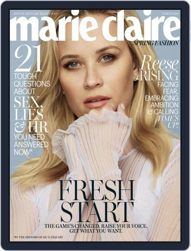 Marie Claire Magazine (Digital) March 1st, 2018 Issue Cover