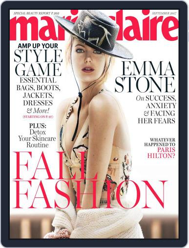 Marie Claire Magazine (Digital) September 1st, 2017 Issue Cover
