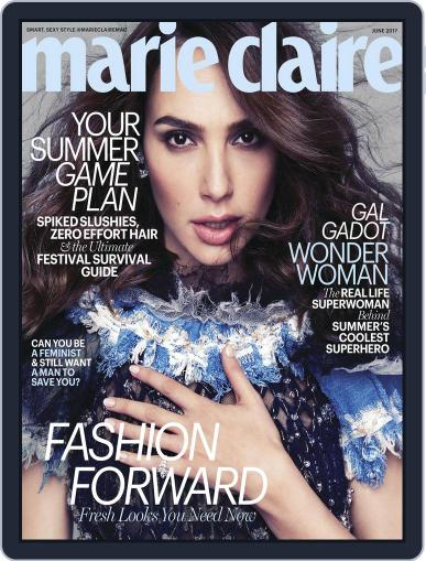 Marie Claire Magazine (Digital) June 1st, 2017 Issue Cover