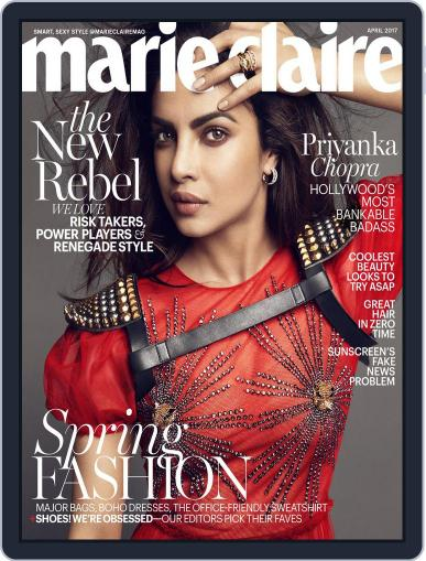 Marie Claire Magazine (Digital) April 1st, 2017 Issue Cover