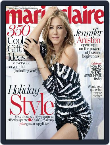 Marie Claire Magazine (Digital) December 1st, 2016 Issue Cover