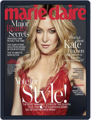 Marie Claire October 1st, 2016 Digital Back Issue Cover