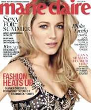Marie Claire Magazine (Digital) Subscription June 16th, 2016 Issue