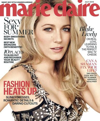 Marie Claire Magazine (Digital) June 16th, 2016 Issue Cover