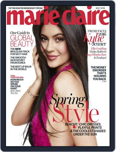 Marie Claire May 1st, 2016 Digital Back Issue Cover