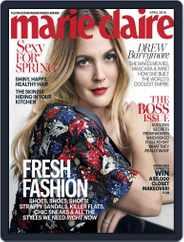 Marie Claire Magazine (Digital) Subscription April 1st, 2016 Issue