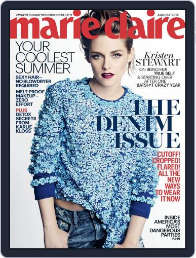 Marie Claire August 1st, 2015 Digital Back Issue Cover