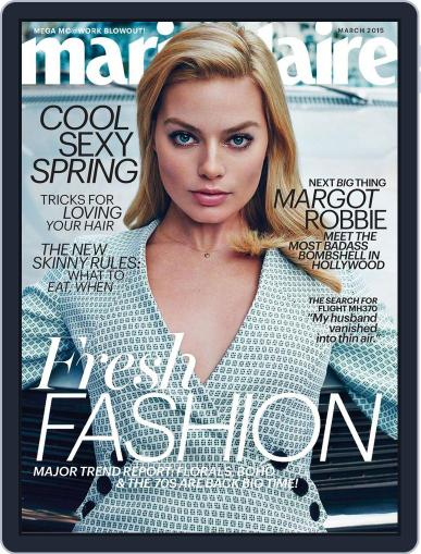 Marie Claire Magazine (Digital) February 13th, 2015 Issue Cover