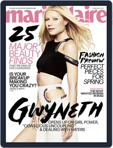 Marie Claire February 1st, 2015 Digital Back Issue Cover