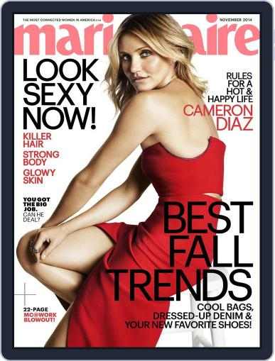 Marie Claire Magazine (Digital) October 17th, 2014 Issue Cover