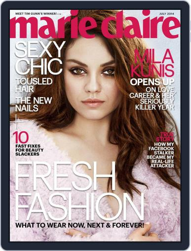 Marie Claire June 20th, 2014 Digital Back Issue Cover
