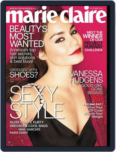 Marie Claire Magazine (Digital) September 12th, 2013 Issue Cover