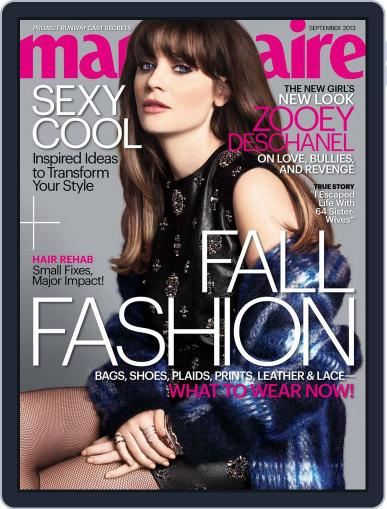 Marie Claire August 8th, 2013 Digital Back Issue Cover