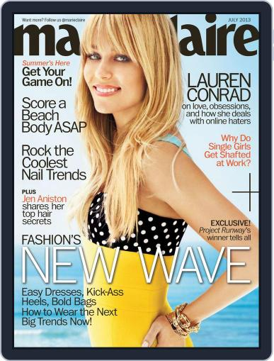 Marie Claire Magazine (Digital) June 18th, 2013 Issue Cover