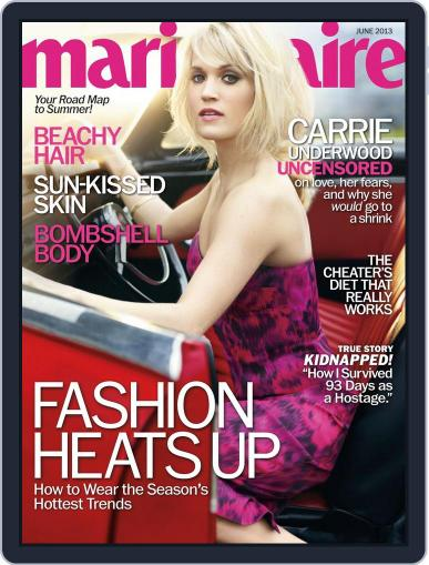 Marie Claire Magazine (Digital) May 21st, 2013 Issue Cover