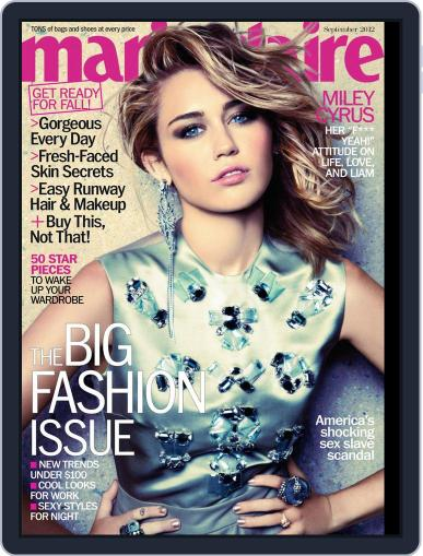 Marie Claire August 14th, 2012 Digital Back Issue Cover