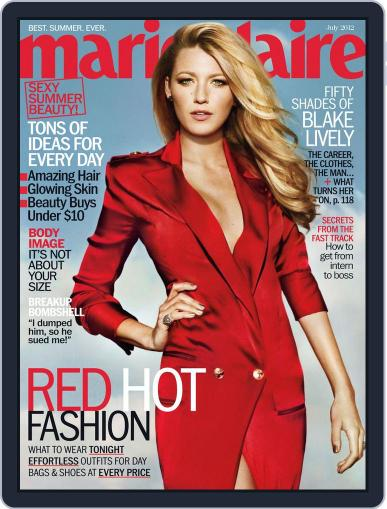 Marie Claire Magazine (Digital) June 19th, 2012 Issue Cover