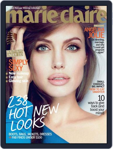 Marie Claire Magazine (Digital) December 20th, 2011 Issue Cover