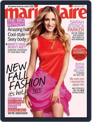 Marie Claire Magazine (Digital) August 18th, 2011 Issue Cover