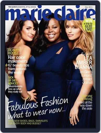 Marie Claire Magazine (Digital) April 22nd, 2011 Issue Cover