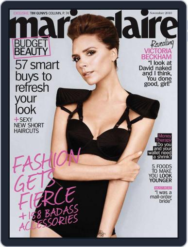 Marie Claire Magazine (Digital) October 16th, 2010 Issue Cover