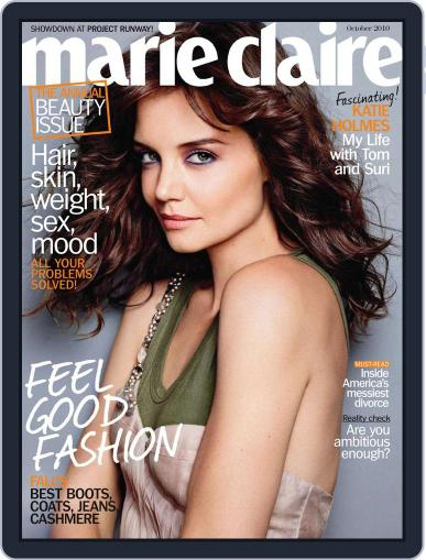 Marie Claire Magazine (Digital) September 22nd, 2010 Issue Cover