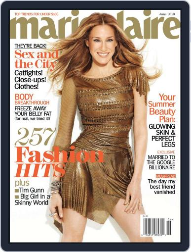 Marie Claire Magazine (Digital) May 11th, 2010 Issue Cover