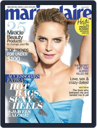 Marie Claire Magazine (Digital) March 16th, 2010 Issue Cover