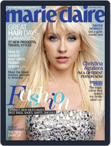 Marie Claire Magazine (Digital) January 14th, 2010 Issue Cover